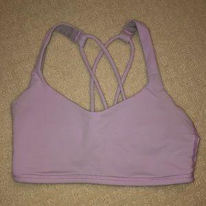 Lilac purple lululemon sports bra